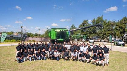 Parte del equipo de Metalfor SA