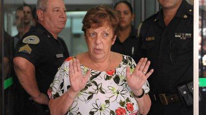 Otros tiempos. Viviana Fein en Le Parc, el edificio en donde fue hallado muerto Alberto Nisman