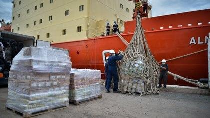 En lo que va de la Campaña Antártica de Verano de este año, el buque logró reaprovisionar las bases Marambio, Esperanza, Orcadas, Belgrano II y la científica Carlini