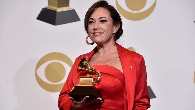 Claudia Brant (Alberto E. Rodriguez/Getty Images para The Recording Academy/AFP)