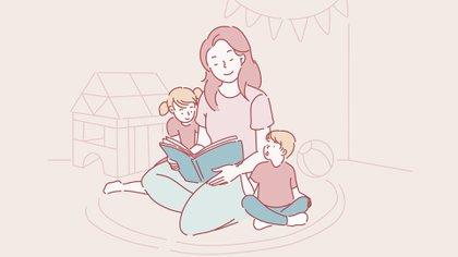 El aislamiento social preventivo y obligatorio llevó a que las familias se queden sin sus redes de contención como lo son los jardines, los abuelos, las niñeras o los posibles cuidadores (Shutterstock)