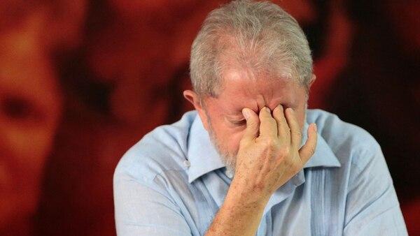 El ex mandatario brasileño Lula da Silva está en prisión