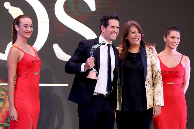 """Diego Ramos, mejor actor de reparto por su labor en """"Locos por Luisa"""" (Fotos: Mario Sar)"""