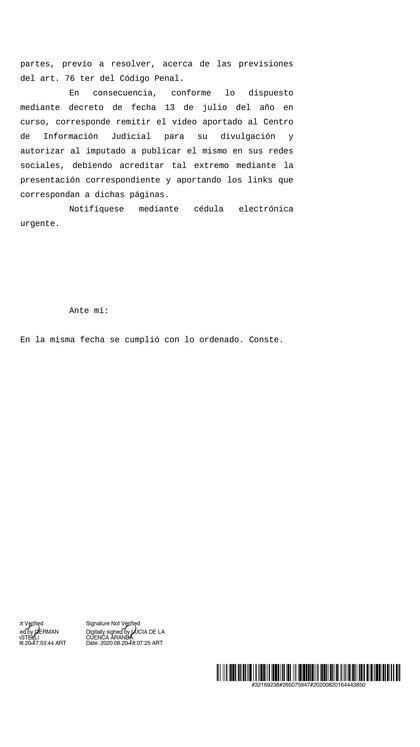 El fallo del Tribunal Oral en Lo Criminal Federal N° 7