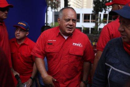 El presidente de la Asamblea Nacional Constituyente (ANC), Diosdado Cabello. EFE/ Miguel Gutiérrez