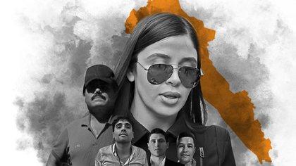 "La captura de Emma Coronel supondría un ""quebradero""  en la mafia sinaloense (Ilustración: Infobae México/Jovani Pérez Silva)"