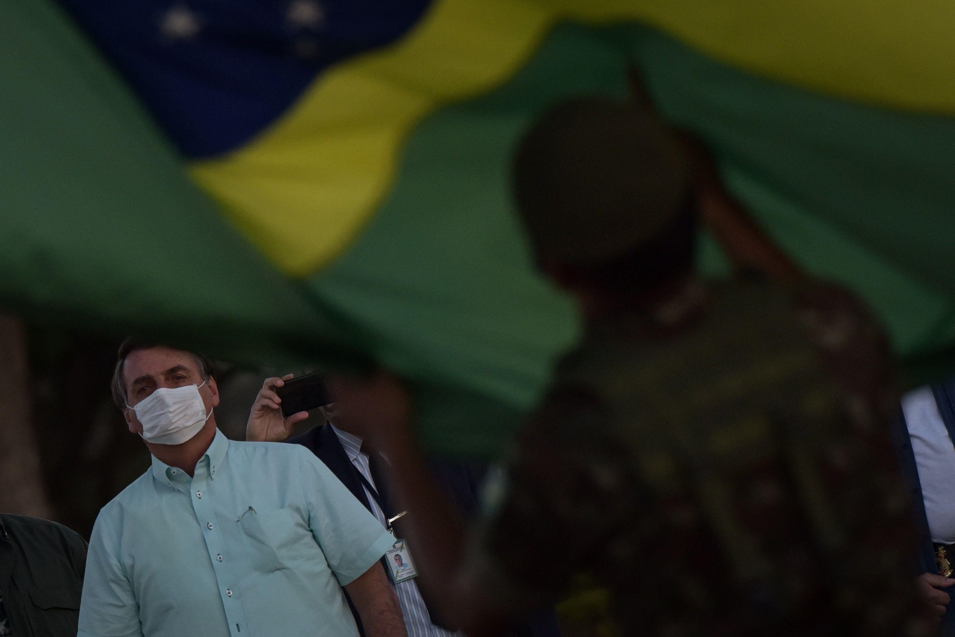 En la imagen, el presidente de Brasil, Jair Bolsonaro. EFE/Andre Borges/Archivo