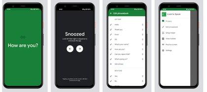 Look to speak está disponible para Android 9.0 en adelante