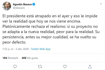 Agustín Basave (Foto: Twitter/ @abasave)