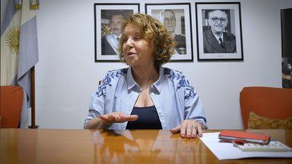 La ex senadora cuestionó a los dirigentes del peronismo que defendieron al ex presidente Amado Boudou (Gustavo Gavotti)