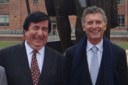 """Jaime Durán Barba, cuando asesoraba a Mauricio Macri, al que calificó como """"uno de los pocos políticos que pueden hablar de eso que es lo importante: el futuro""""."""