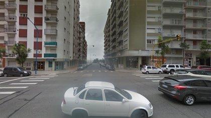 El accidente ocurrió en la intersección de avenida Colón y Alsina