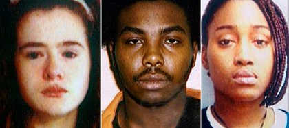 Christa Pike, su novio Tadaryl Shipp y la amiga de ambos Shadolla Peterson fueron arrestados pocas horas después del crimen