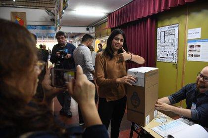 Poco más de la mitad de los jovenes está habilitado para votar el año que viene (Maximiliano Luna)