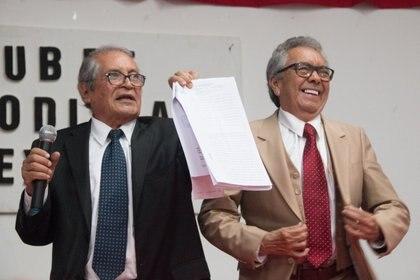 En la imagen, los abogados José Luis González y Juan Pablo Badillo. (Foto: Archivo/Cuartoscuro)