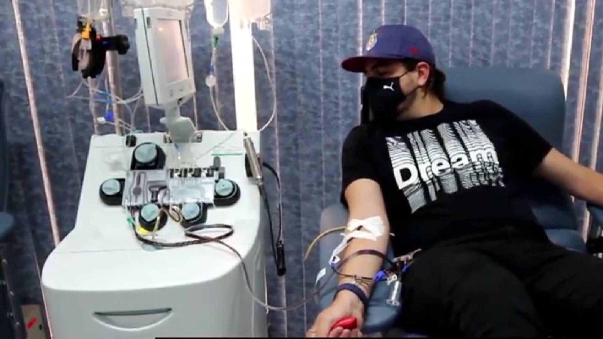 IMSS y Chivas buscarán promover la donación de plasma y sangre (Foto: Captura de pantalla)