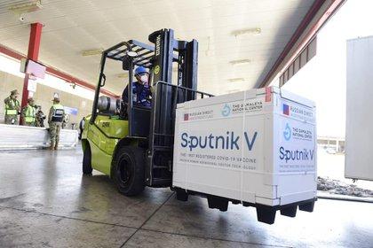 Sputnik V es uno de los inmunizantes que utiliza el gobierno mexicano para mitigar la pandemia (Foto: Cortesía Presidencia)