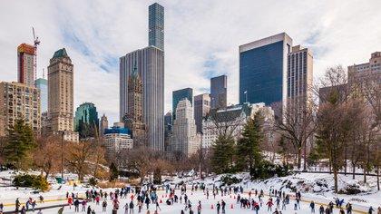 La pista Wollman es un entretenimiento tradicional para las familias de Nueva York (Shutterstock.com)