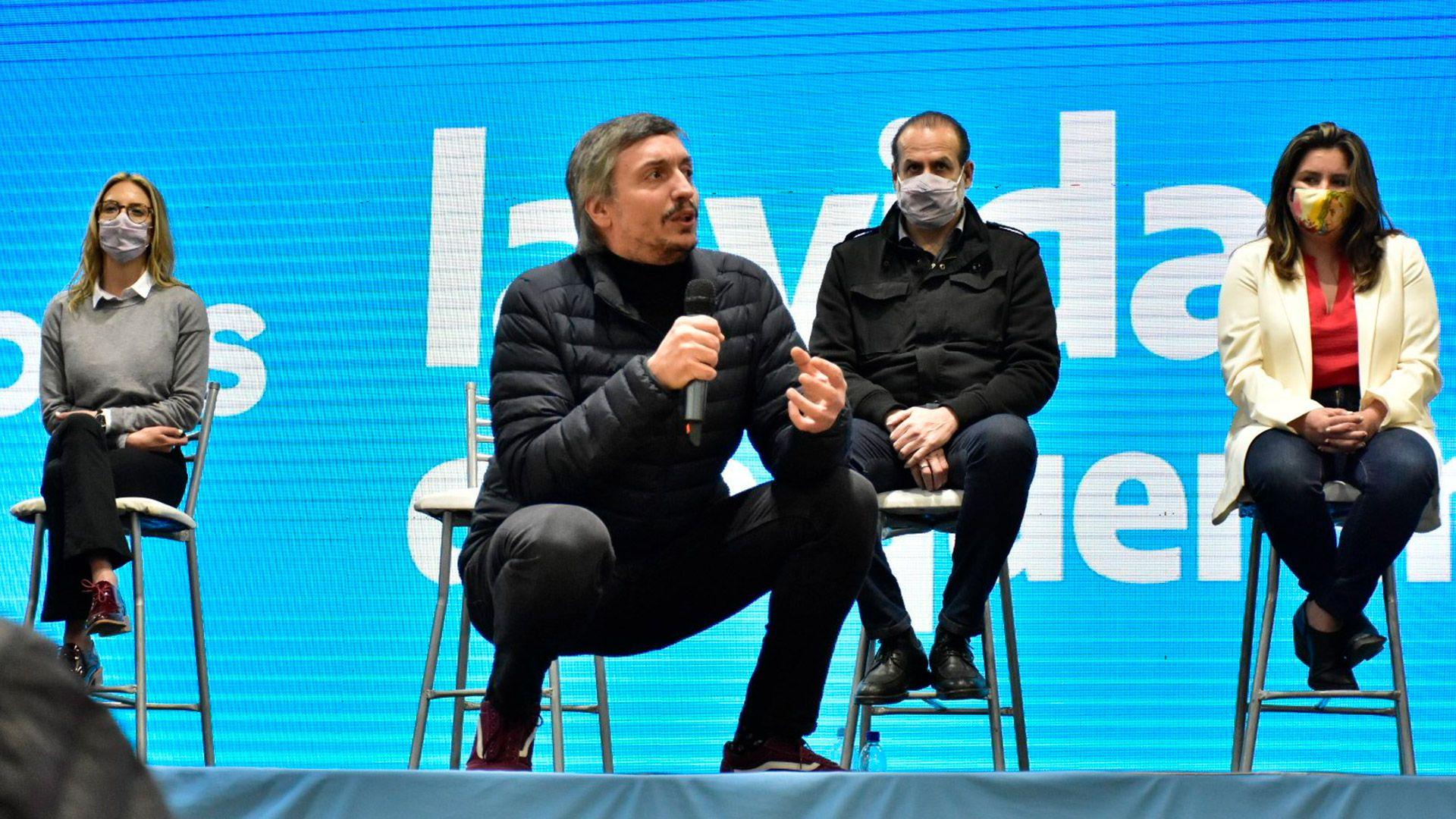 Cierre de campaña Frente de Todos, Sergio Massa, Máximo Kirchner