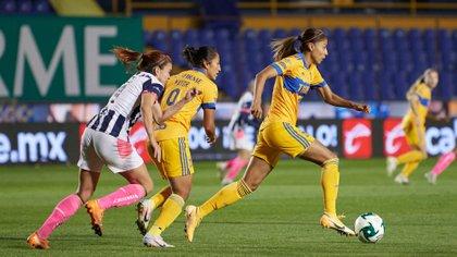 Las mujeres de Tigres registran mejores números para el campeonato mexicano (Foto: Twitter / @TigresFemenil)