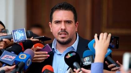 Stalin González, representante de Juan Guaidó en el diálogo con el régimen chavista