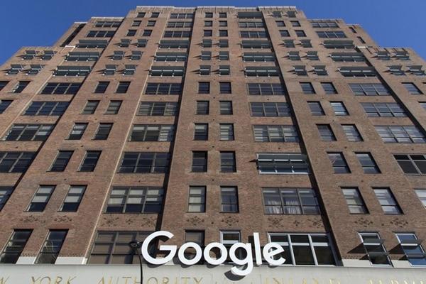 El edificio de Google en la Novena Avenida de Nueva York. (AP)