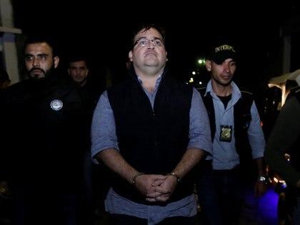 El ex gobernador de Veracruz Javier Duarte tras su detención en Guatemala el 15 de abril de 2017 (Foto: Reuters/Danilo Ramirez)