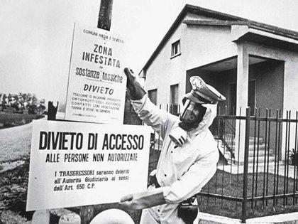 El desastre no tuvo víctimas inmediatas, pero 35 años después la tasa de tumores en la zona de Seveso es superior a la del resto del norte de Italia