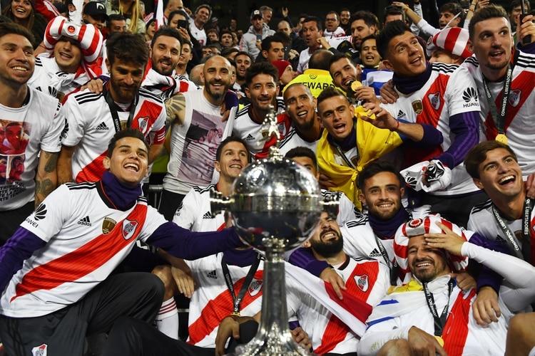 River campeón de la Copa Libertadores 2018 (AFP)