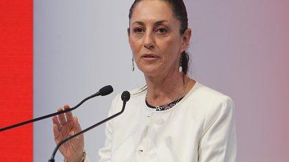 La jefa de Gobierno de la Ciudad de México, Claudia Sheinbaum, en Palacio del Ayuntamiento de la Ciudad de México (México). EFE/ Mario Guzmán/Archivo