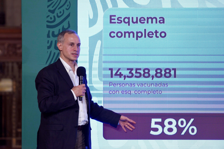 El próximo viernes concluirán 450 horas de información en conferencia de prensa acerca del estado de la pandemia por el virus SARS-CoV-2 en México (Foto: EFE/Presidencia de México)
