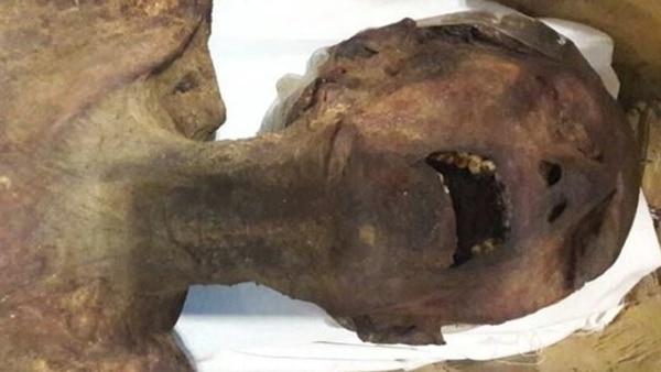 """Resuelven el misterio de la """"Momia que grita"""": era hijo de Ramsés III"""