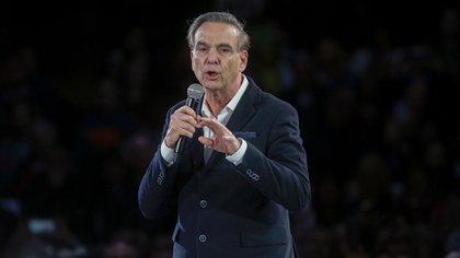 El candidato a vicepresidente Miguel Angel Pichetto