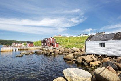 Red Bay, en la provincia de Labrador, Canadá. (Shutterstock)