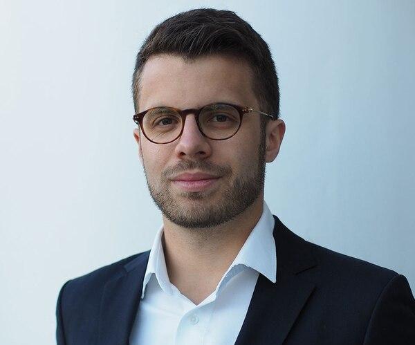Jakub Florkiewicz, de la Universidad de Harvard, es uno de los organizadores de la hackatón en el Vaticano