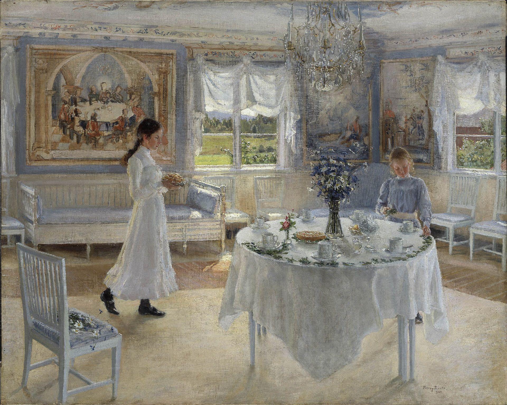 """""""Un día de celebración"""", de Fanny Brate"""