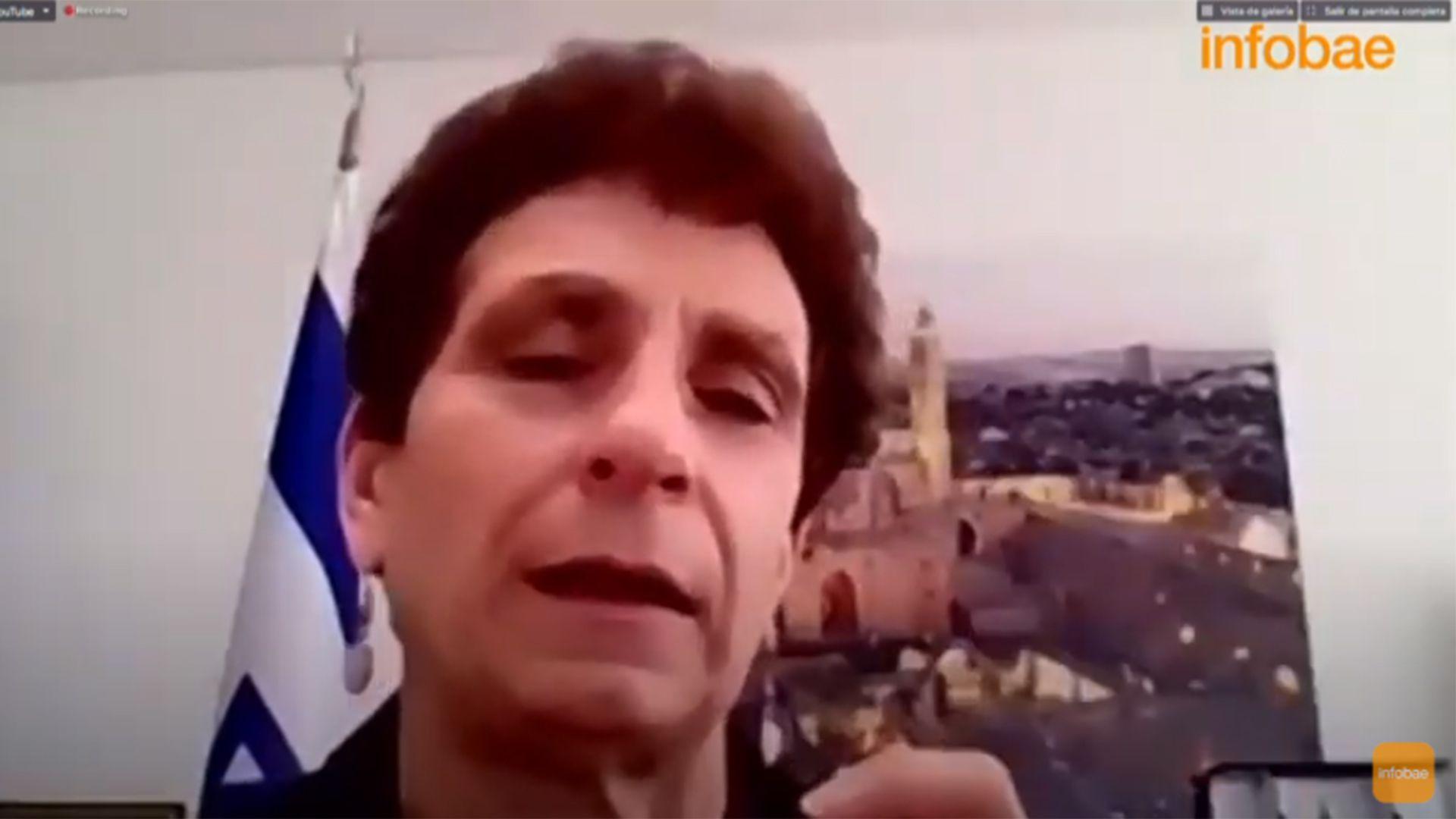 Galit Ronen embajadora de Israel