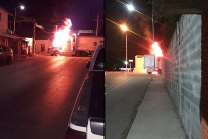 Nuevo Laredo, Tamaulipas, cumplió 48 horas bajo fuego (Foto: Twitter/nuevolaredovivo)