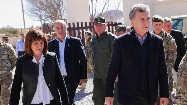 Previamente el Presidente encabezó un acto para poner en marcha el plan de Fronteras Protegidas