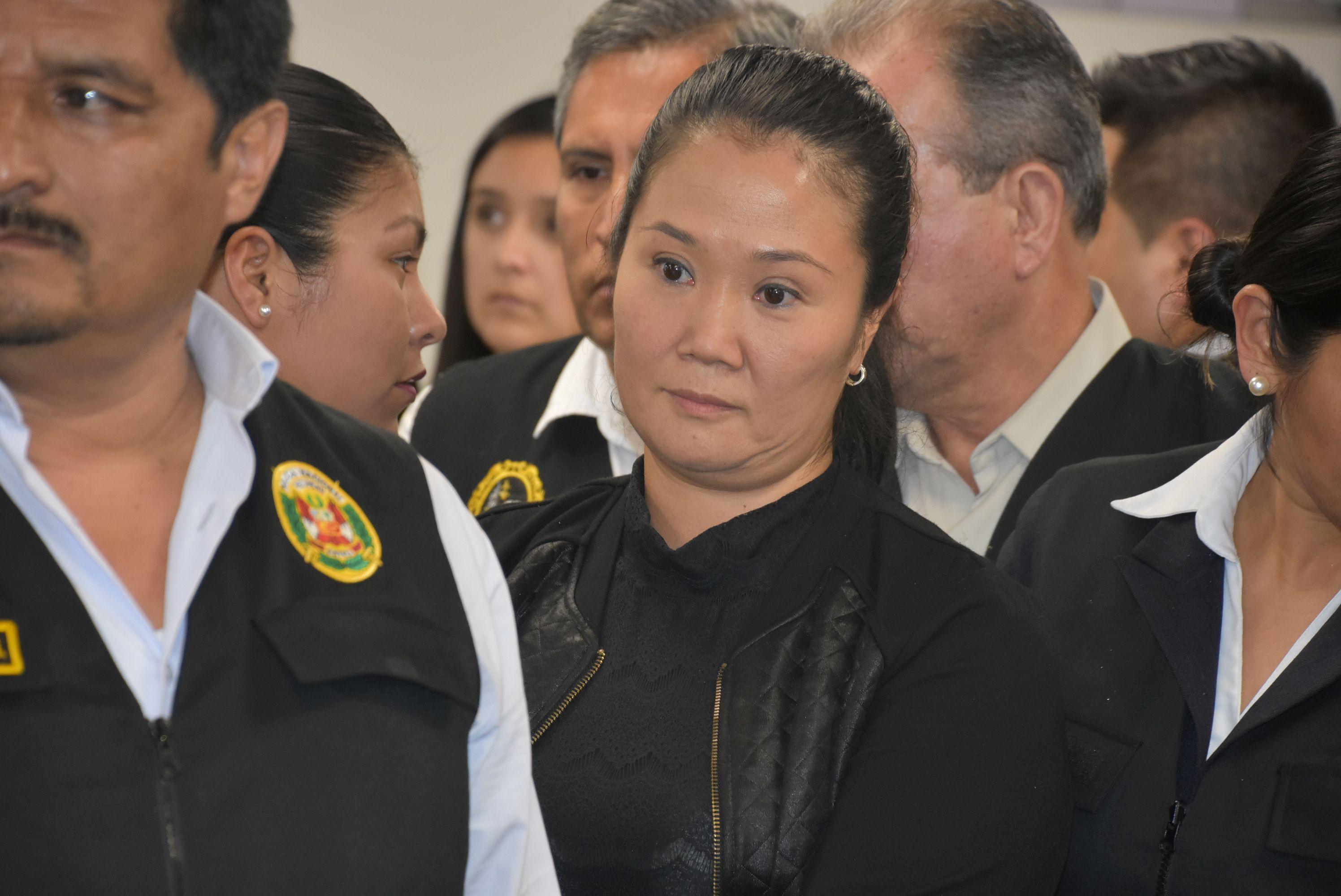 Keiko Fujimori estuvo en prisión preventiva. El antifujimorismo no se activó con la fuerza de otras campañas por la ausencia de un candidato con credibilidad y compromiso democrático (Reuters)