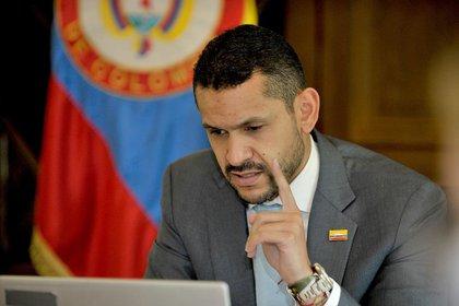 Ministro del Interior, Daniel Palacios. / Twitter