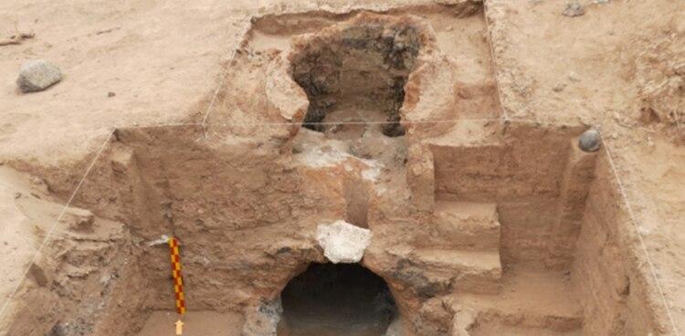 Los arqueólogos hallaron 30 hornos de fundición del siglo XV, restos de herramientas, ocho recintos de habitaciones y elementos decorativos (@CTyS_UNLaM)