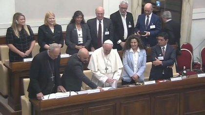 El Papasuscribió la Declaración de Roma