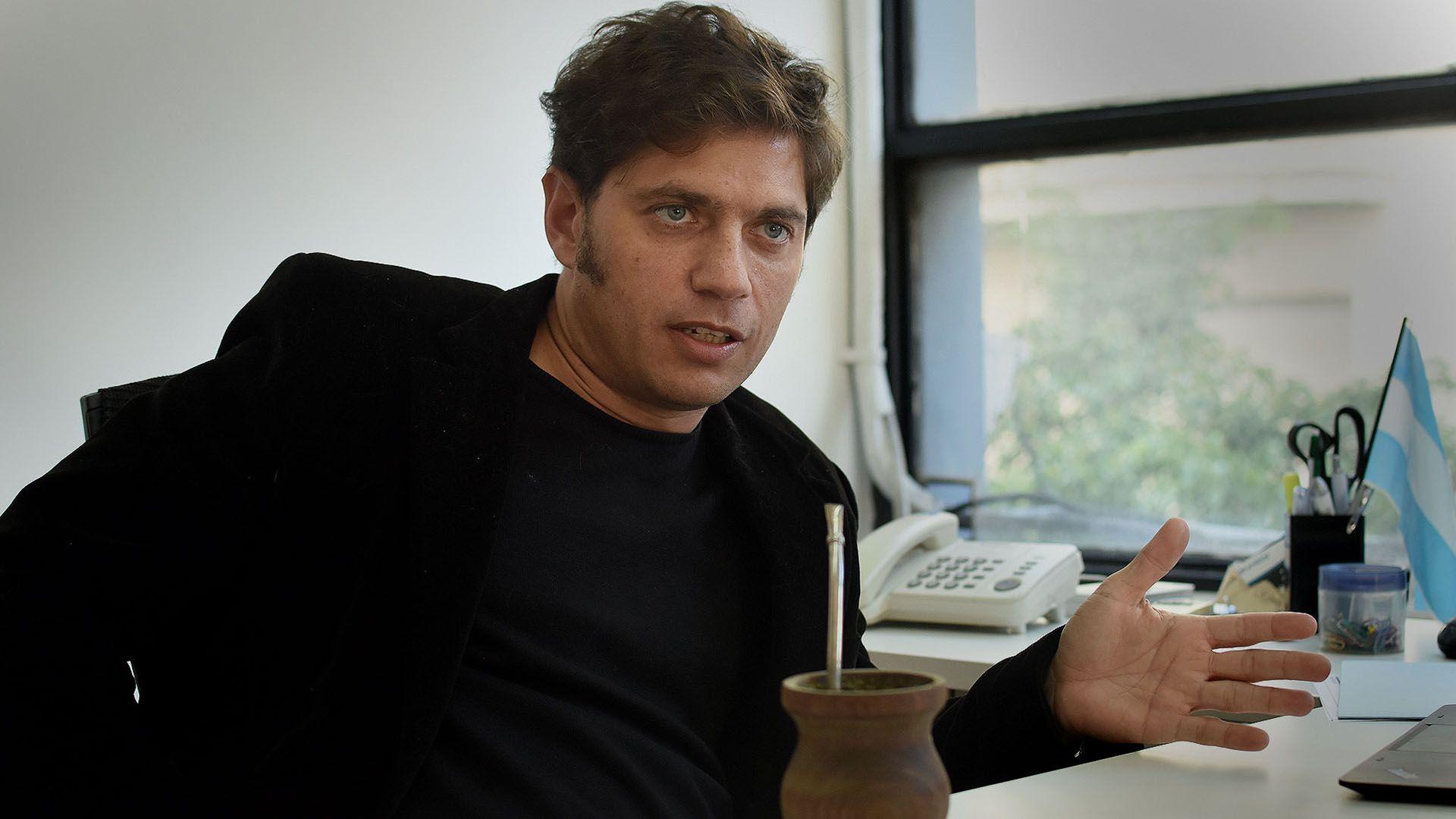 Axel Kicillof es precandidato a gobernador de la Provincia de Buenos Aires