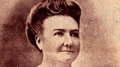 Cecilia Grierson fue la primera mujer en recibirse de médica en el país y fue parte del comité femenino de la Cruz Roja