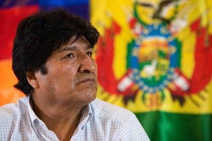 Evo Morales provocó un fuerte repudio tras sus dichos sobre una milicia armada en Bolivia (Franco Fafasuli)