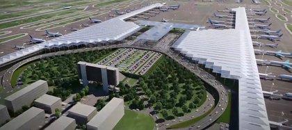 Proyecto del aeropuerto (Foto: Archivo)