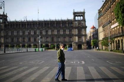 Sheinbaum Pardo llamó a mantener la disciplina y quedarse en casa (Foto: Reuters/Edgard Garrido)