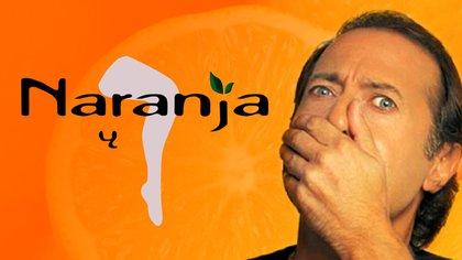 Naranja y media se emitió en 1997 en la pantalla de Telefe