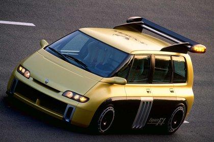 El Space F1 fue uno de los concept más emblemáticos de la marca francesa (Renault)